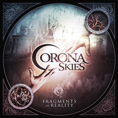 Corona Skies - logo ja levynkannet