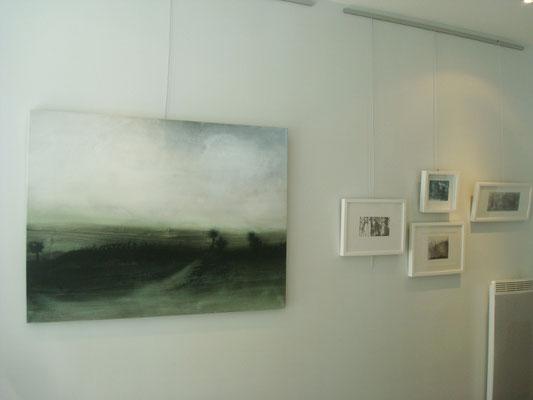 Peintures (encre et acrylique) et gravures de Hee-Jung Jung