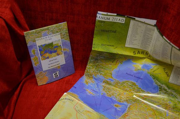 Folded poster Imperium Romanum