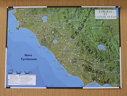 Etruria et Latium Vetus DIN A2