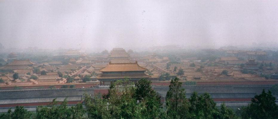 De Verboden Stad vanaf het Jingshan Park