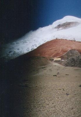 Beklimming van de Cotopaxi vulkaan