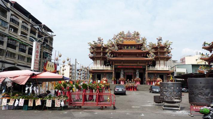 tempel bij het Lotus meer