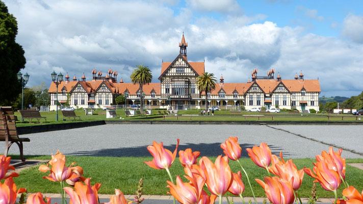 Rotorua Museum Government Garden