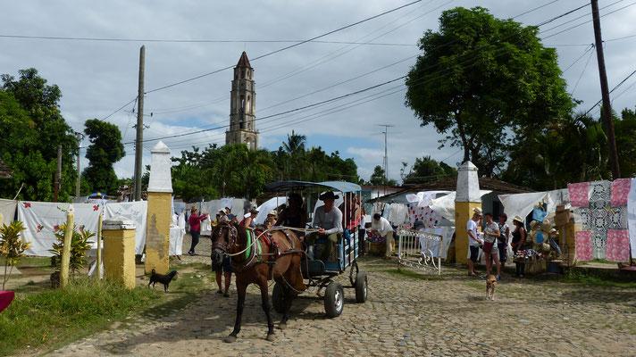 De toren van Hacienda Iznaga