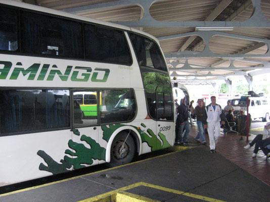 De nachtbus naar Merida