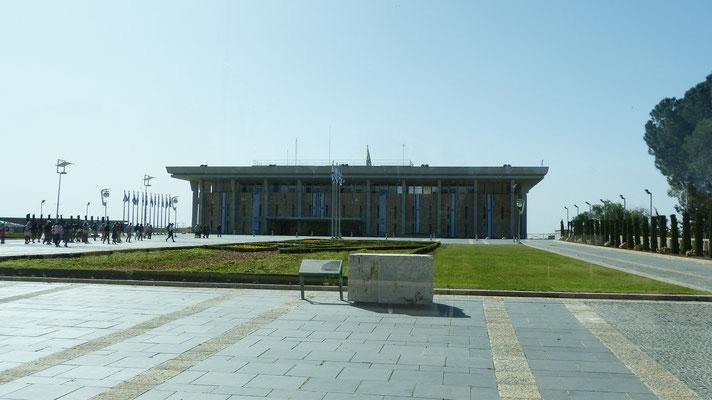 De Knesset, het Israelische Parlement