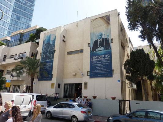 Tel Aviv, de plaats waar de onafhankelijkheid van Israel werd uitgeroepen