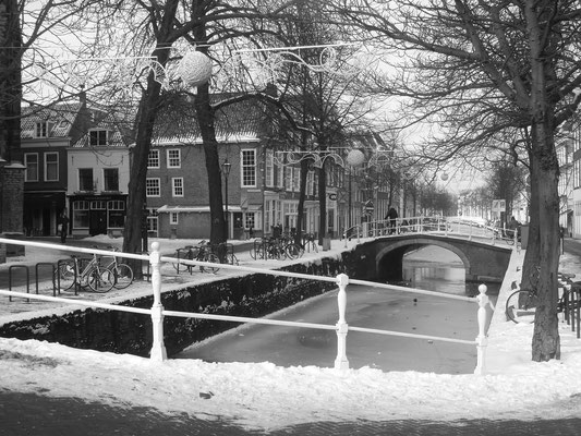 Delft in winter