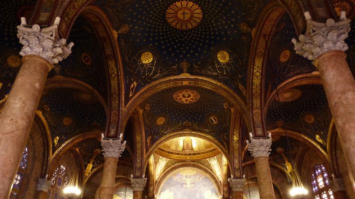 De Kerk van Alle Naties, of Basilica van de doodsangst