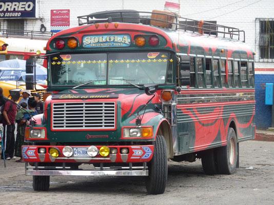 Openbaar vervoer in Solola