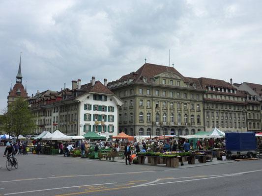 Markt op de Bündesplatz