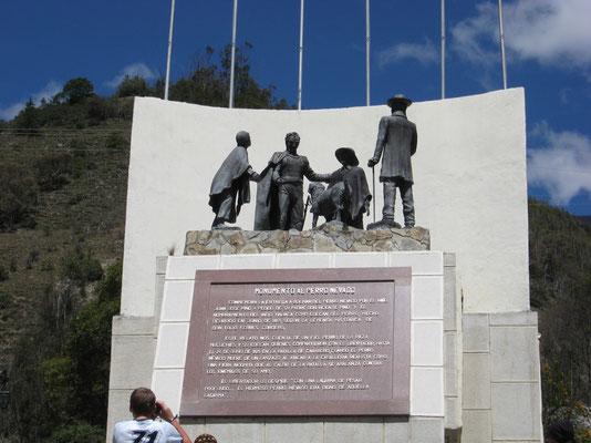 Monument voor de hond van Bolivar...