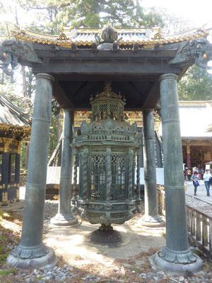 In Rinno-ji tempel, geschonken door de Nederlanders