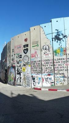 De Muur tussen Bethlehem en Jeruzalem