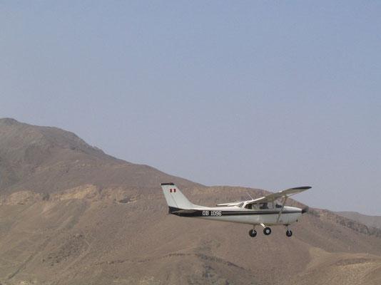 Vliegen over de Nasca Lijnen