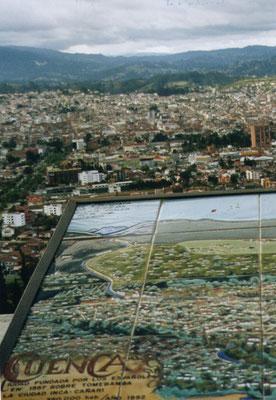 Uitzicht over Cuenca