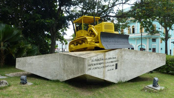 Bulldozer gebruikt bij het laten ontsporen van de munitie trein