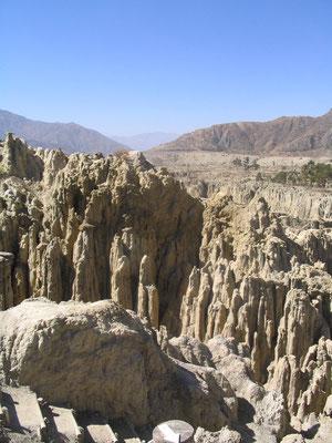 Valle de la Luna - La Paz