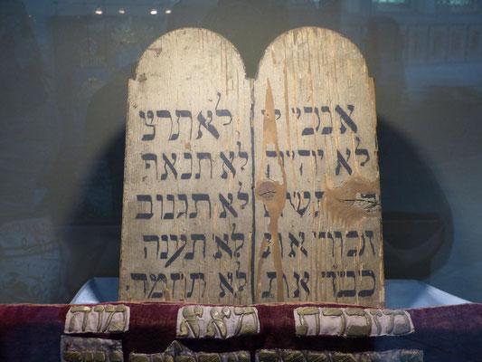 De wet van Mozes in het Joods Museum