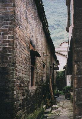 Bezoek aan een dorpje