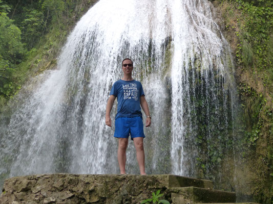 Waterval in Soroa