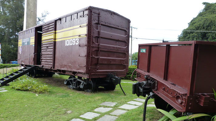 De ontspoorde trein