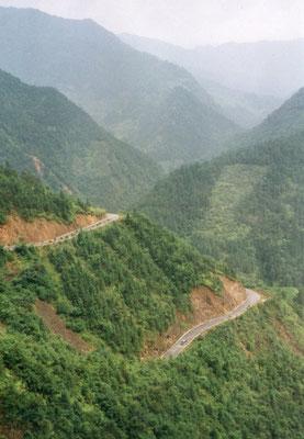 Op weg naar Longji