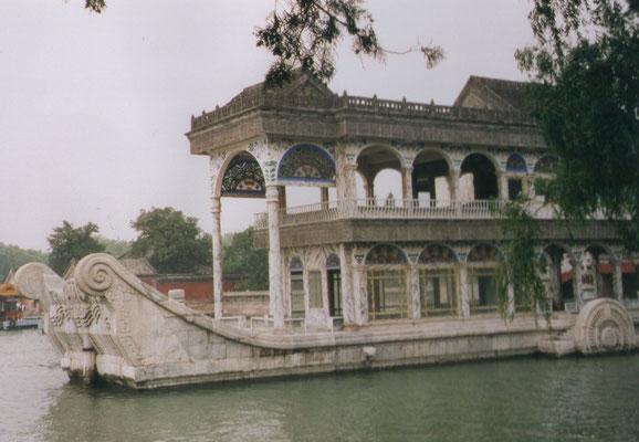 Zomerpaleis Beijing - Marmeren Boot
