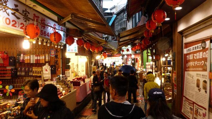 Jiufen Old street markt