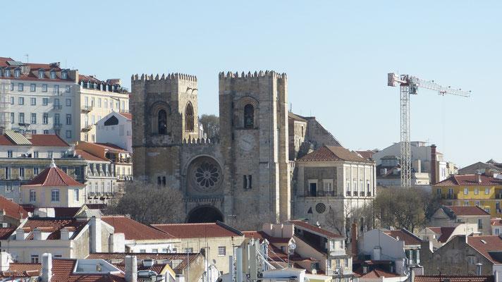 Sé, de kathedraal van Lissabon