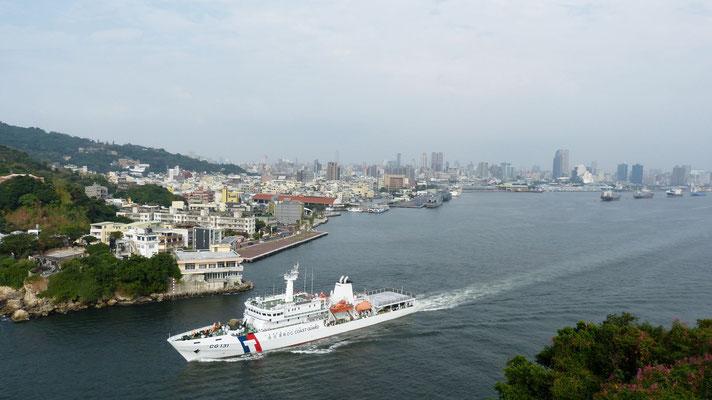 uitzicht over Kaohsiung