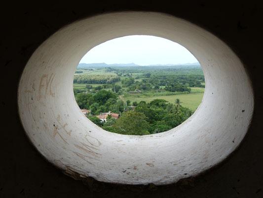 Uitzicht over de omgeving