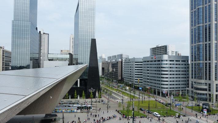 2016 - Het Weena vanaf het Groothandelsgebouw tijdens Rotterdam viert de Stad