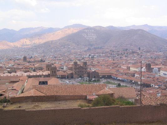 Uitzicht over Lima