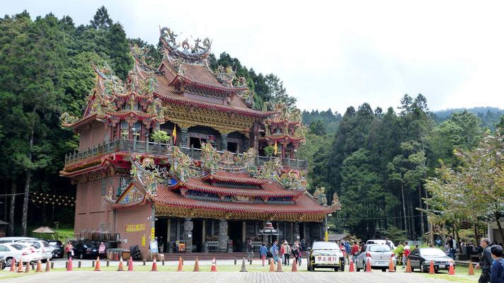 Tempel in Alishan