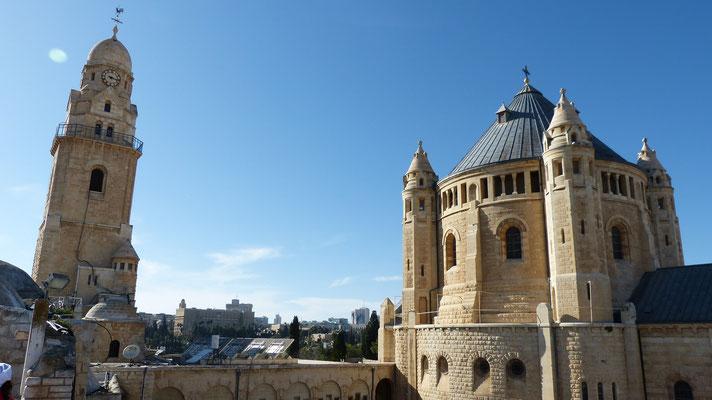 Klooster op de berg Sion