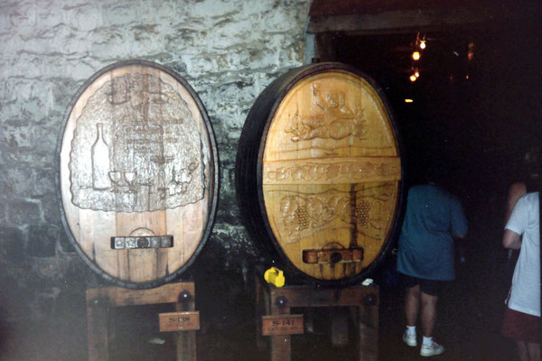 Sonoma wijnkelder