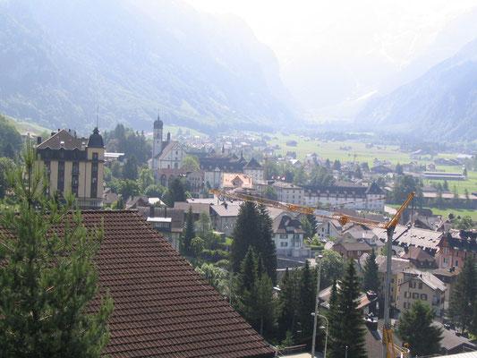 Uitzicht over Engelberg