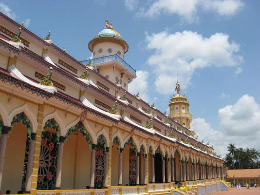 Tay Ninh - Cao Dai tempel