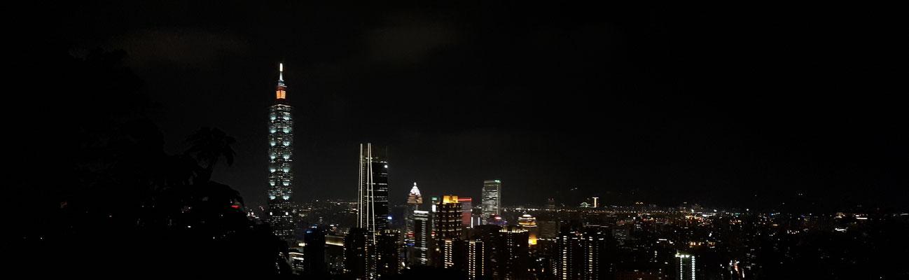 Taipei vanaf Elephant Mountain