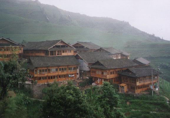 Het dorpje op 1.600 meter hoogte