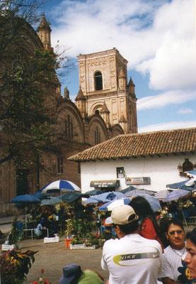Markt in Cuenca