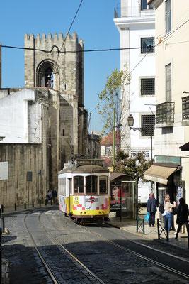 Sé met de beroemde tramlijn 28