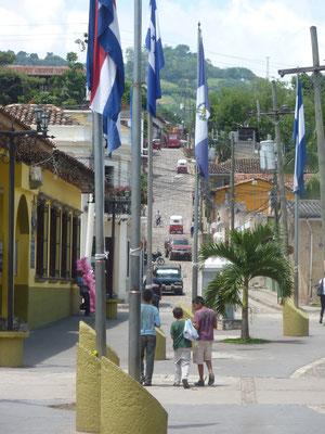 Het centrum van Copan