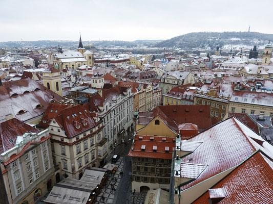 uitzicht vanaf de klokkentoren