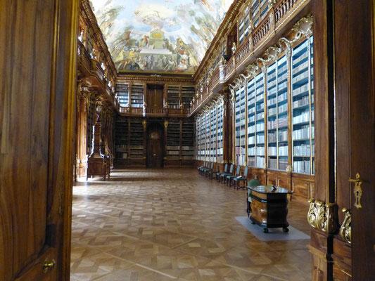 Bibliotheek in het Strahov klooster