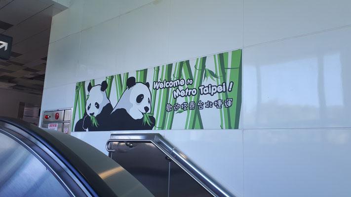 Metrostation Taipei Zoo