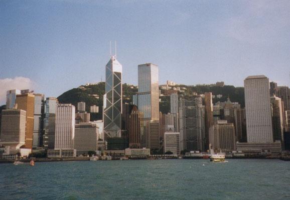 Sky line van Hong Kong