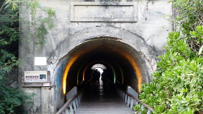 Cijin tunnel, overblijfsel van de Japanse tijd